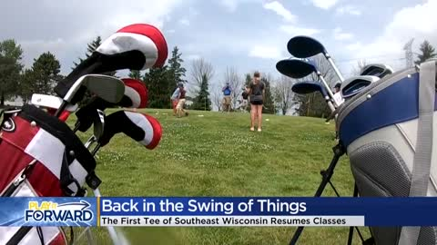 The First Tee is back in the swing of things
